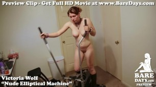 Victoria Wolf's Nude Elliptical Machine - BareDays Trailer